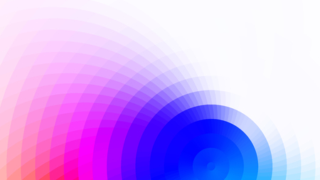 Abstract bright colors composition with squares. Optical illusion of blur effect. Place for text. Vector background for presentation, flyer, poster. Digitally wallpaper.