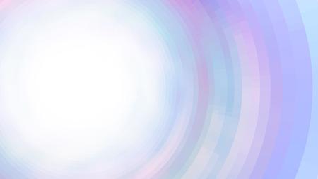 Abstrakte Farbzusammensetzung mit Quadraten. Optische Täuschung des Unschärfeeffekts. Platz für Text. Vektor EPS10 Hintergrund für Präsentation, Flyer, Poster. Digital Tapete. 16: 9
