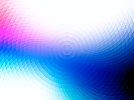 vector composition with grid, tiles, gradient effect