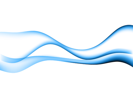 energetic waves, EPS10 with transparency and mesh Vector Illustration
