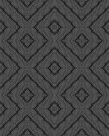 illustration of geometric seamless pattern without gradient Illustration