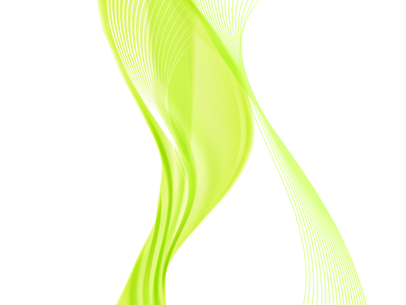 Vektorwellen- und Kurvenlinie. EPS10 mit Transparenz. Abstrakte Komposition mit Kurvenlinien. Verschwommene Linien mit Kopienraum. Platz für Text. Grenzlinien