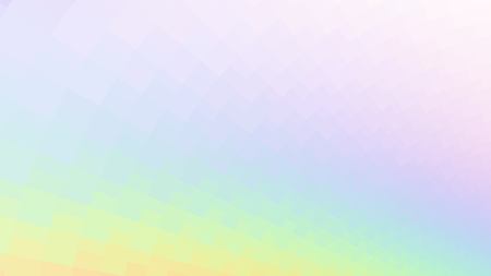 Abstract holographic colors composition with squares. Optical illusion of blur effect. Place for text. Vector EPS10 background for presentation, flyer, poster. Digitally wallpaper. 16 : 9