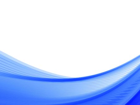 Vektorwelle und Kurvenlinie. EPS10 mit Transparenz. Abstrakte Komposition mit Kurvenlinien. Verschwommene Linien für den Hintergrund des Themas entspannen. Hintergrund mit Kopienraum. Platz für Text. Grenzlinien