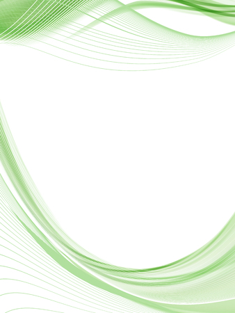 Vector wavy and curve line. EPS10 with transparency. Abstract composition with curve lines. Blurred lines with copy space. Place for text. Border lines Stock Vector - 125331105