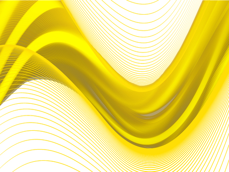 Vector wavy and curve line. EPS10 with transparency. Abstract composition with blurred lines. Illustration