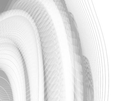 Vector wavy and curve line. EPS10 with transparency. Abstract composition with blurred lines. Ilustrace