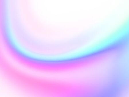 Abstract holographic iridescent composition. Background for banner, headline, presentation, corporate identity, flyer, poster, cover backdrop, wallpaper. Vector EPS10 not trace, include mesh gradient Ilustração