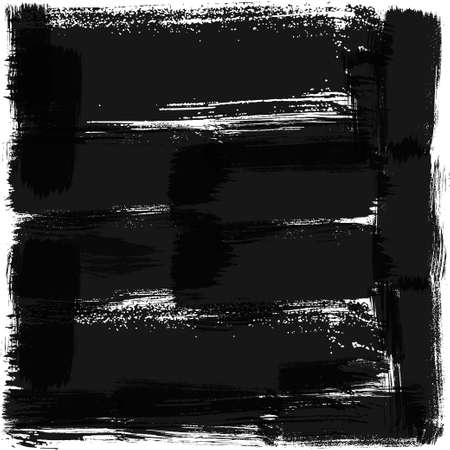 Black background, square. High quality trace, vector EPS10 with transparency
