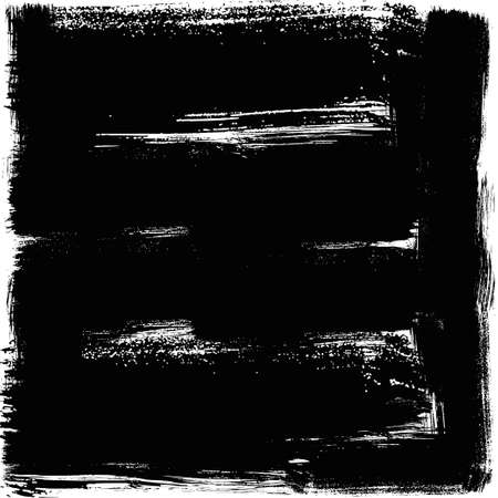 Black background, square. Vector EPS10 high quality trace