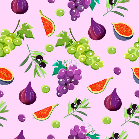 seamless pattern. Modern stylish texture.Used for logo design, recipe book, advertising,menu.