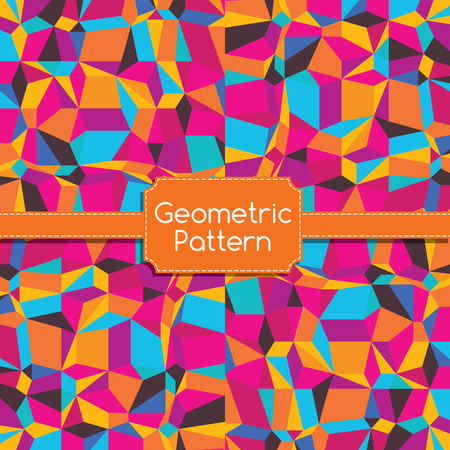 parallelepiped: Abstract Geometric Pattern
