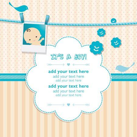 invitación de la ducha del bebé