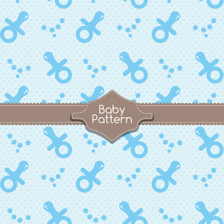 baby pacifier pattern template royalty free cliparts vectors and