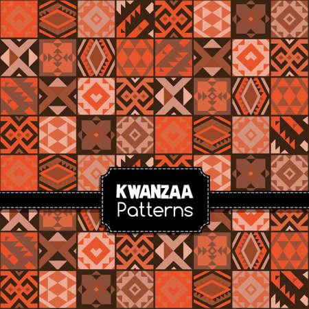 kwanzaa: Ethnic kwanzaa pattern