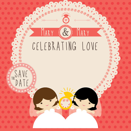 wedding: Wedding couple card template