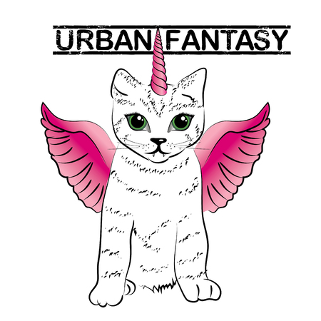 Urban fantasy - cute unicorn cats