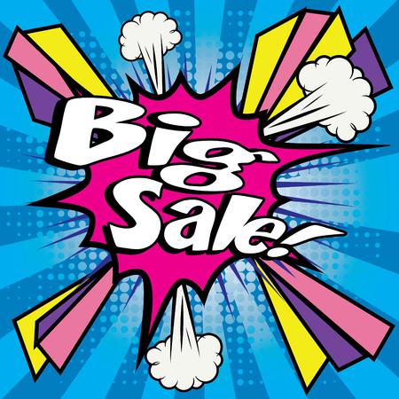big sale: Big sale pop art