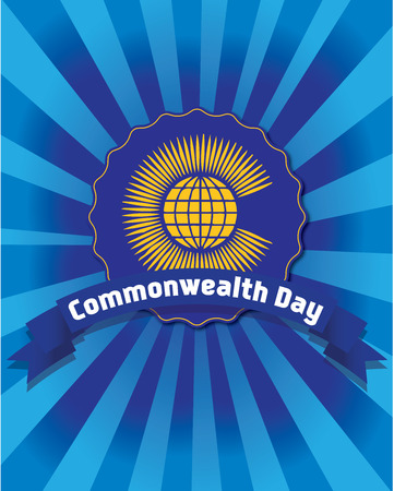 british culture: Commonwealth day icon