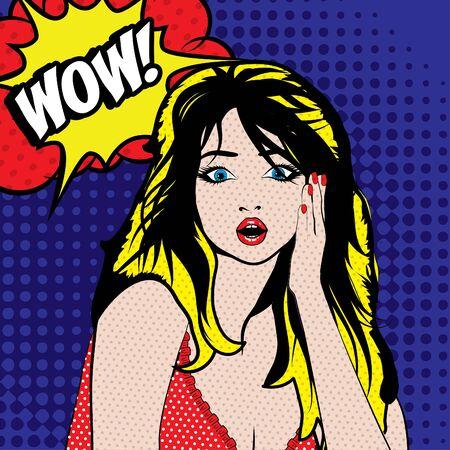 wow: Pop arte de la mujer - Wow!