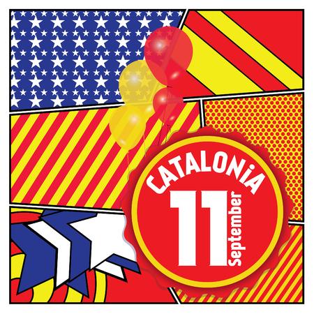 catalonia: Happy Catalonia national day