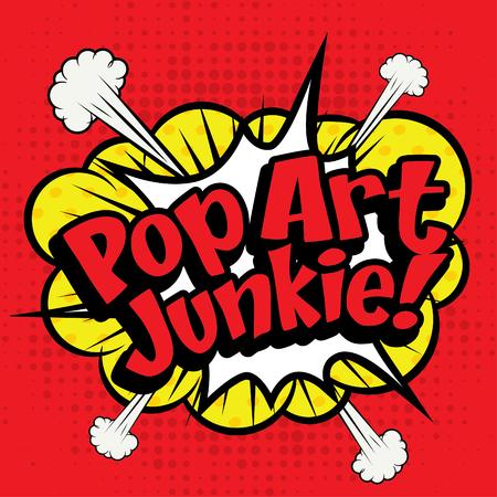 junkie: Pop Art comics icon Popart Junkie