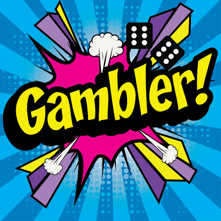 gambler: Pop Art comics icon Gambler!