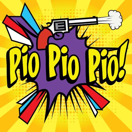 pio: Pop Art comics icon Pio Pio Pio!