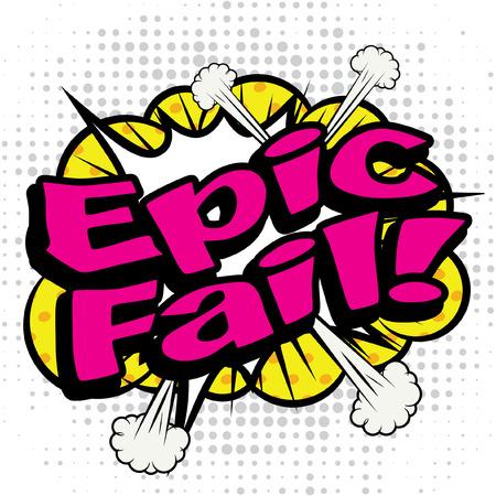 dynamite: Pop Art Epic Fail! Illustration