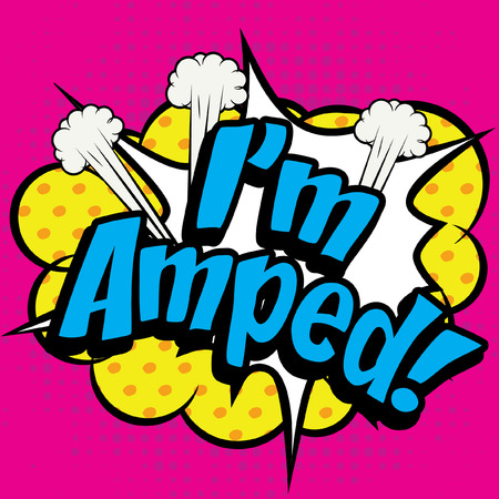 slang: Pop Art Im Amped! Illustration