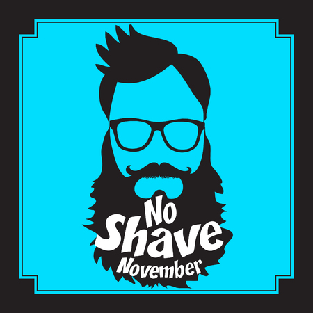 No Shave November pop art