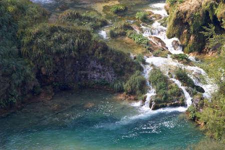 Croatia. Plitvice Lakes National Park. Waterfalls Sostavtsy photo