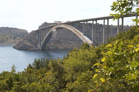krk: Croatia. Krk bridge