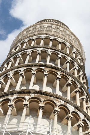 dei: Italy, Pisa. Leaning Tower in the Campo dei Miracoli ensemble