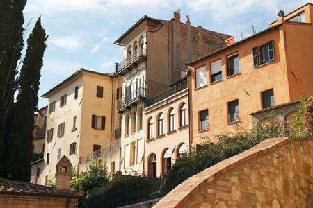 montepulciano: Italy, Montepulciano. Urban architecture