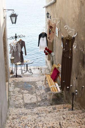 nook: Croatia, Rovinj. Boutique