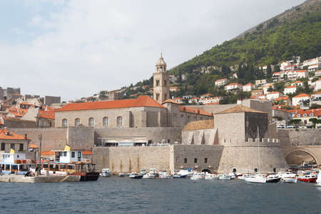 Croatia, Dubrovnik. Port in Old Town photo