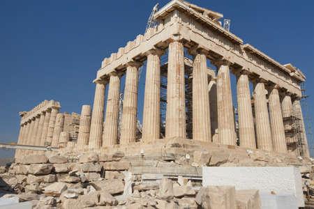 tempio greco: Grecia, Atene. Il tempio greco antico del Partenone di Atene
