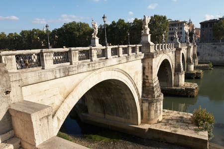 angelo: Rome, Italy. Bridge of San Angelo