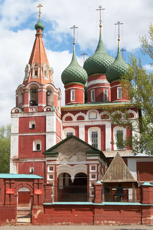 Russia, Yaroslavl. Church of Archangel Michael Stock Photo - 13429544