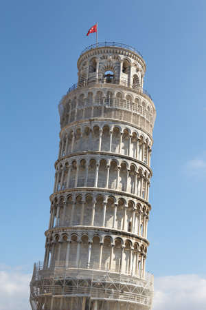 ensemble: Italy, Pisa. Leaning Tower in the Campo dei Miracoli ensemble