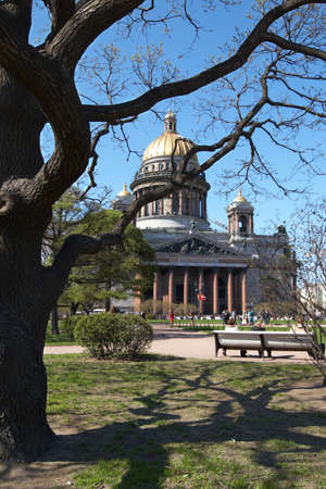 Russia. St.-Petersburg. Isaakievsky cathedral photo