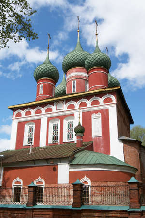 Russia, Yaroslavl. Church of Archangel Michael photo
