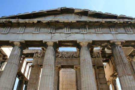 Greece, Athens. Ancient Agora. Temple Hephaisteion (Theseion) photo
