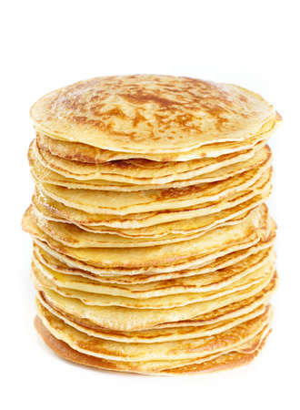 A stack of pancakes Stock Photo