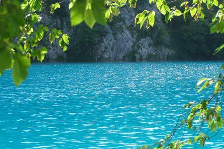Plitvice lake national park, Croatia photo
