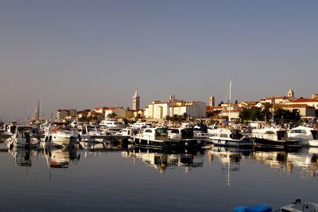 lanscape: Croatian Harbour