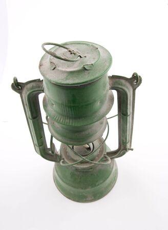 Old kerosene  lantern, vintage item photo