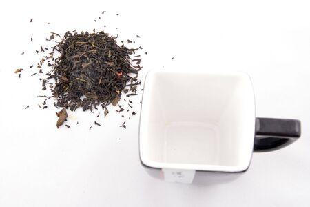 Healthly chinese gunpowder green tea,  Stock Photo - 3116474