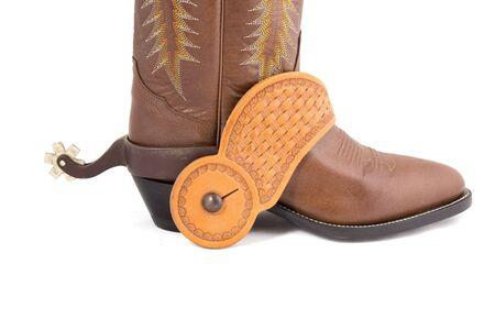 Cowboy gear - western riding equipment, spurs
